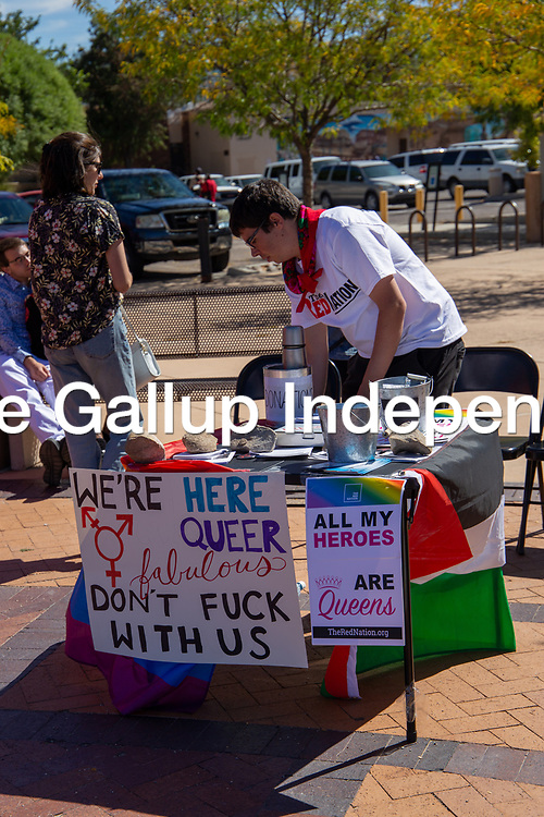 This weekend the Gallup PRIDEfest was held for three days at in the Downtown area to celebrate the LGBTQ community and its supporters.