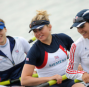 Caversham Reading. GBR Rowing,   GBR W8+, Emily TAYLOR. 2011 World Cup team announcement,  Redgrave and Pinsent Lake. Wednesday  11/05/2011  [Mandatory Credit Peter Spurrier intersport Images]