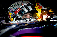 VETTEL Sebastian (Ger) Red Bull Renault Rb10 ambiance portrait  during the 2014 Formula One World Championship, Italy Grand Prix from September 5th to 7th 2014 in Monza, Italy. Photo Eric Vargiolu / DPPI