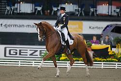 Salzgeber Ulla (GER) - Wakana<br /> CDI-W Stuttgart German Masters 2009<br /> Photo© Dirk Caremans