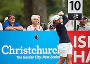 Gwladys Nocera of France during Day 1 of the ISPS Handa NZ Women's Open held at Clearwater Golf Course. 12 February 2016. Photo: Joseph Johnson / www.photosport.nz