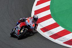 June 17, 2018 - Barcelona, Catalonia, Spain - The Italian rider, Andrea Dovizioso of Ducati Team, during the Catalunya Motorcycle Grand Prix at Circuit de Catalunya on June 17, 2018 in Barcelona, Spain. (Credit Image: © Joan Cros/NurPhoto via ZUMA Press)
