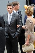 Prinsjesdag 2014 - Aankomst Politici op het Binnenhof.<br /> <br /> Op de foto: Harm Beertema - PVV