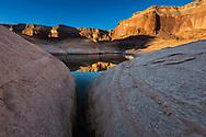 Wetherill Canyon, Sunrise, Lake Powell, Glen Canyon National Recreation Area, Utah