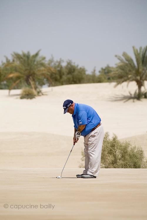 Abu Dhabi, United Arab Emirates (UAE). March 20th 2009.<br /> Al Ghazal Golf Club.<br /> 36th Abu Dhabi Men's Open Championship.<br /> Willy Low