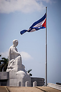 Statue to the poet and national hero, Jose Marti