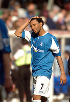 Photo: Leigh Quinnell.<br /> Birmingham City v Newcastle United. The Barclays Premiership. 29/04/2006. Birminghams Jermaine Pennant feels the pain of relegation.