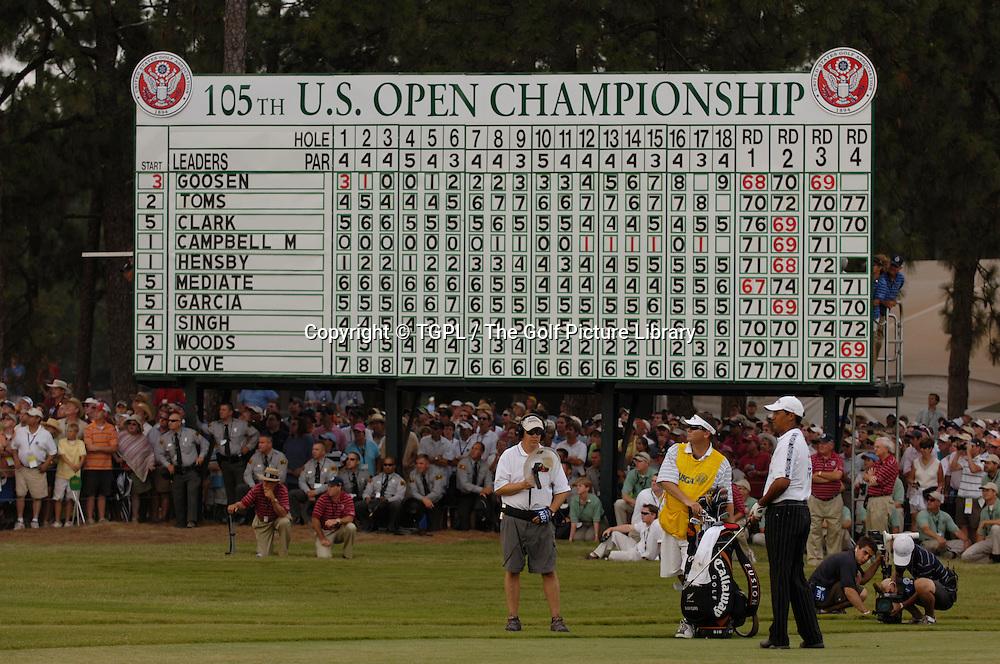 Michael CAMPBELL (NZ) during fourth round US Open 2005,Pinehurst No.2,Pinehurst,North Carolina,USA.