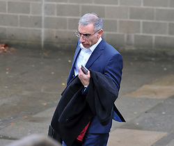 Pictured: Accountant Steven Simou leaves Court after giving his evidence.<br /> <br /> Author JK Rowling is suing her former PA Amanda Donaldson for damages after the Harry Potter author claimed Ms Donaldson used Ms Rowling's money to go on lavish shopping sprees, including buying two designer cats, spending more than £3600 GBP on makeup and more than £1600 GBP in coffee chain Starbucks. The case, before Sheriff Derek O'Carroll, is being heard at Airdrie Sheriff Court.<br /> <br /> (c) Dave Johnston / EEm