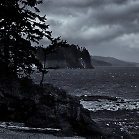 Salt Creek Rec. Area Port Angeles, WA<br />editted 4/28/17<br /> converted to B&W 5/12/17<br /> Printed 5/15/17