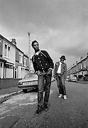 Rankin Roger and Saxa of the The Beat - 1981 photosessions