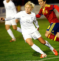 Fifa Womans World Cup Canada 2015 - Preview //  Friendly Match -<br /> Spain vs New Zealand 0-0  ( Municipal Stadium - La Roda , Spain ) <br /> Betsy Hassett of New Zealand