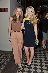 Left to right, singers KIMBERLEY WALSH and CAMILLA KERSLAKE at a fashion show by Catherine Walker & Co in support of The Haven held at One Mayfair, North Audley Street, London on 18th May 2011.