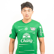 THAILAND - JUNE 11: Chanin She-Ear #35 of Chon Buri FC on June 11, 2019.<br /> .<br /> .<br /> .<br /> (Photo by: Naratip Golf Srisupab/SEALs Sports Images/MB Media Solutions)