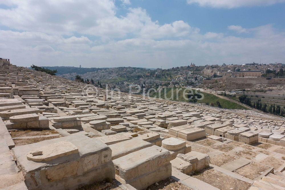 The Monastery Carmel Pater Noster on 31st March 2016 in Jerusalem, West Bank.