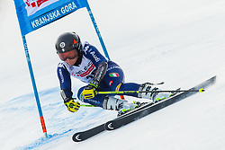 Valentina Cillara Rossi (ITA) during Ladies' Giant Slalom at 57th Golden Fox event at Audi FIS Ski World Cup 2020/21, on January 17, 2021 in Podkoren, Kranjska Gora, Slovenia. Photo by Vid Ponikvar / Sportida