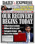 March 04, 2021 (UK): Front-page: Today's Newspapers In United Kingdom