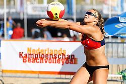 20150828 NED: NK Beachvolleybal 2015, Scheveningen<br />Kwalificaties NK Beachvolleybal 2015, Emi van Driel