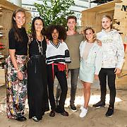 NLD/Utrecht/20190814 - Bekendmaking 6 deelnemers Expeditie Robinson 2019, Rijk Hofman, Hugo kennis, Eva Koreman, Eva Cleven, Fien Vermeulen,