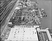 """Ackroyd 17173-4 """"City of Portland misc. March 16, 1971"""" Schnitzer yard"""