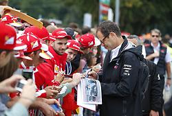 September 2, 2018 - Monza, Italy - Motorsports: FIA Formula One World Championship 2018, Grand Prix of Italy, ..Aldo Costa (Mercedes AMG Petronas Motorsport) (Credit Image: © Hoch Zwei via ZUMA Wire)