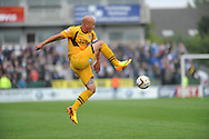 Newport County Captain David Pipe in action. Skybet League two match, Newport county v Bristol Rovers at Rodney Parade in Newport, South Wales on Saturday 17th August 2013.  pic by Phil Rees ,Andrew Orchard sports photography,