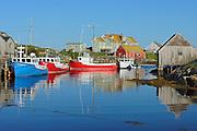 Coastal fishing village on the Atlantic Ocean<br /> Peggy's Cove<br /> Nova Scotia<br /> Canada