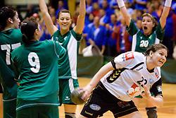 Cvijic Dragana of Krim at last 10th Round handball match of Slovenian Women National Championships between RK Krim Mercator and RK Olimpija, on May 15, 2010, in Galjevica, Ljubljana, Slovenia. Olimpija defeated Krim 39-36, but Krim became Slovenian National Champion. (Photo by Vid Ponikvar / Sportida)