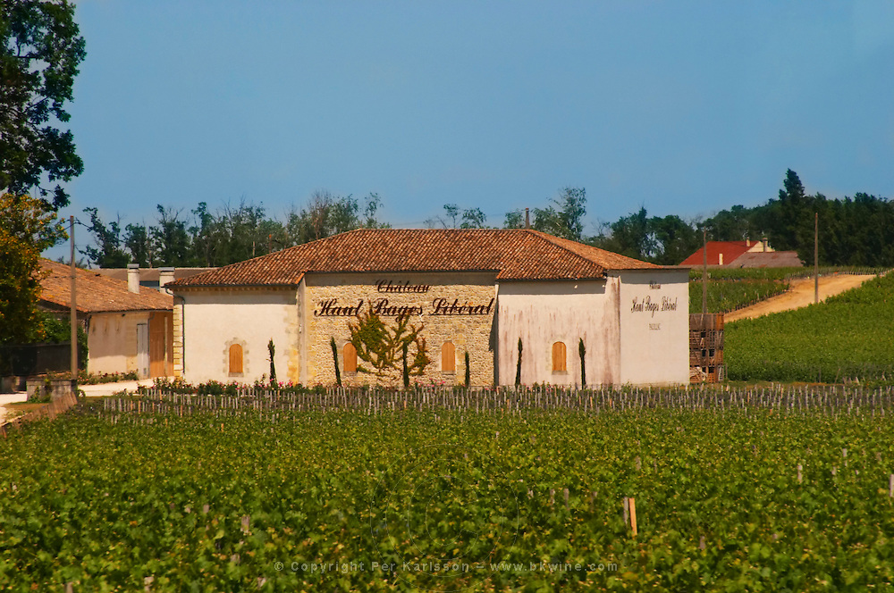Chateau Haut Bages Liberal, 5e fifth grand cru classe, Pauillac, Medoc Pauillac Medoc Bordeaux Gironde Aquitaine France