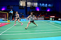 Mizuki Fuji of Bristol Jets and Jess Hopton of Bristol Jets in action  - Photo mandatory by-line: Robbie Stephenson/JMP - 07/11/2016 - BADMINTON - University of Derby - Derby, England - Team Derby v Bristol Jets - AJ Bell National Badminton League