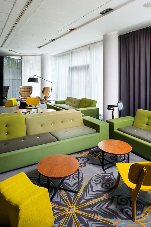 wnętrza Puro Hotel w Krakowie