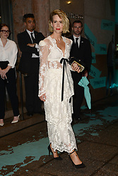 May 3, 2018 - New York, NY, USA - May 3, 2018  New York City..Sarah Paulson attending Tiffany & Co. 'Paper Flowers' jewelry collection launch on May 3, 2018 in New York City. (Credit Image: © Kristin Callahan/Ace Pictures via ZUMA Press)
