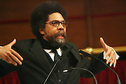 Cornel West at The Cornell West Talk held at The Abyssynia Baptist Church in Harlem , NYC April 1, 2009