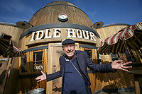 Monty Python actor Eric Idle just happened to be at Idle Hour, a bar and restaurant in North Hollywood, at the invitation of his daughter. May 8, 2017.  Photo by David Sprague