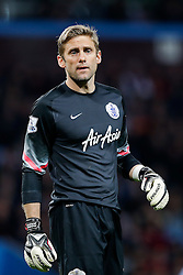 Robert Green of QPR looks on - Photo mandatory by-line: Rogan Thomson/JMP - 07966 386802 - 07/04/2015 - SPORT - FOOTBALL - Birmingham, England - Villa Park - Aston Villa v Queens Park Rangers - Barclays Premier League.