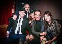 2015 Boston Fashion Awards at the Stage Nightclub - David Josef, Gustavo Leon, Daniel James Forrester, Inga Puzikov, Kinda Touma