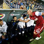 SB Elazigspor's Fabio Alves Da Silva (R) during their Turkish Superleague soccer match Fenerbahce between SB Elazigspor at the Sukru Saracaoglu stadium in Istanbul Turkey on Sunday 20 January 2013. Photo by Aykut AKICI/TURKPIX
