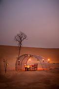 Private dining in the desert with Platinum Heritage (www.platinum-heritage.com), United Arab Emirates