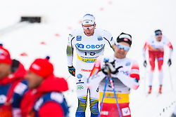 March 9, 2019 - Oslo, NORWAY - 190309 Daniel Rickardsson of Sweden competes in men's 50 km classic technique during the FIS Cross-Country World Cup on March 9, 2019 in Oslo..Photo: Fredrik Varfjell / BILDBYRÃ…N / kod FV / 150211. (Credit Image: © Fredrik Varfjell/Bildbyran via ZUMA Press)