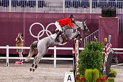 Wathelet Gregory, BEL, Nevado S, 312<br /> Olympic Games Tokyo 2021<br /> © Hippo Foto - Dirk Caremans<br /> 03/08/2021
