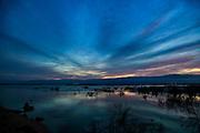 Israel, Dead Sea and Judaea desert at sunset