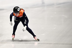 February 9, 2019 - Torino, Italia - Foto LaPresse/Nicolò Campo .9/02/2019 Torino (Italia) .Sport.ISU World Cup Short Track Torino - Ladies 500 meters Semifinals .Nella foto: Lara van Ruijven..Photo LaPresse/Nicolò Campo .February 9, 2019 Turin (Italy) .Sport.ISU World Cup Short Track Turin - Ladies 500 meters Semifinals.In the picture: Lara van Ruijven (Credit Image: © Nicolò Campo/Lapresse via ZUMA Press)