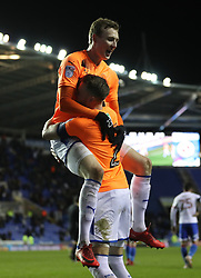 Reading's Jon Dadi Bodvarsson celebrates scoring the third goal