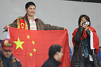 20100303: COIMBRA, PORTUGAL - Portugal vs China: International Friendly. In picture: Chinese fans. PHOTO: CITYFILES