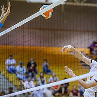 Gallup Bengal Rhiannon Spencer (14) tries to shoot past Navajo Prep Eagle Martinique Larvingo (11) Wednesday at Gallup High School.