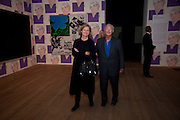 SIR TERENCE CONRAN; LADY CONRAN, Pop Life in a Material World. Tate Modern. London. 29 September 2009.