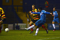John Marsden. Stockport County FC 2-0 Bradford Park Avenue. Buildbase FA Trophy. 26.11.16