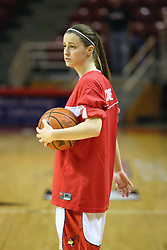 15 March 2007: Kristi Cirone during pre-game warm ups. The Owls of Rice university visited the Redbirds of Illinois State University at Redbird Arena in Normal Illinois for a round one WNIT game.