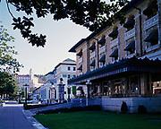Fordyce, Maurice, Hale and Superior Bathhouses, Bathouse Row, Central Avenue, Hot Springs National Park, Hot Springs, Arkansas.