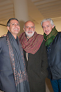 CARLOS SOUZA; FRANCESCO CLEMENTE; PATRICK KINMOUTH, Mandala for Crusoe, Exhibition of work by Francesco Clemente. Blain/Southern. Hanover Sq. London. 29 November 2012